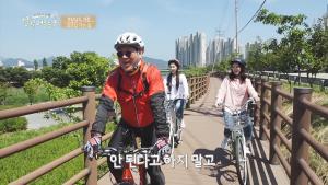 걸그룹 리브하이 신아 가빈,  현석과 한국농업방송 프로그램 거창 자전거 기행